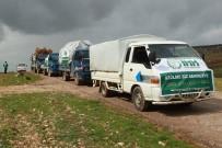 İdlib'de 500 Aileye İnsani Yardım