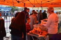 YÜZME YARIŞI - 'Kefal Dalyan'da Yenir' Sloganıyla Tonlarca Ekmek Arası Kefal Dağıtıldı