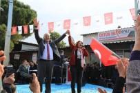 Özlem Çerçioğlu Seçim Çalışmalarını Dalama'da Sürdürdü