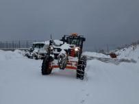 Tendürek'de Kar Ve Tipi Ulaşımı Felç Etti