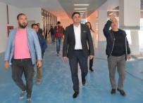 SİNEMA SALONU - Aliağa Gençlik Merkezi'nin Açılışına Sayılı Günler Kaldı