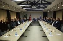ENERJI BAKANı - Başkan Çelik'e Vefa Ve Teşekkür Ziyareti