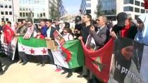 1 EYLÜL - Brüksel'de 'Helal Kesim Yasağı' Protestosu