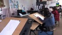 NURETTİN SÖNMEZ - 'Diriliş Ertuğrul' Sevgisi Şırnaklı Öğrencilerin Kara Kalemlerine Yansıdı