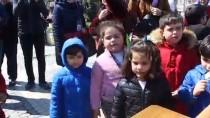 Edirneli Esnaf Fatih'in Doğum Gününde Helva Dağıttı