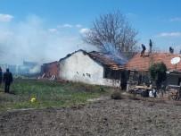 Fırında Ekmek Yaparken Evi Yandı