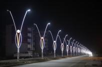 ZAKKUM - Silopi Belediyesinden Modern Işıklandırmalar Ve Peyzaj Çalışmaları