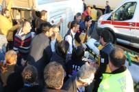 TEM'de minibüs devrildi: 17 yaralı
