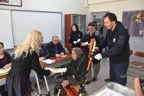 ATAKENT - 70 Yaşındaki Kadın Oy Kullanmaya Ambulansla Geldi