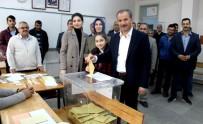 AHMET FARUK ÜNSAL - Adıyaman'da Siyasiler Oylarını Kullandı
