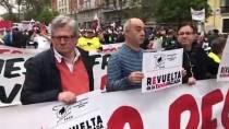 HıZLı TREN - Madrid'de 'Büyük Şehirlere Göçe' Karşı Gösteri