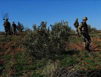HAVAN SALDIRISI - Suriye'de Türk askerlerine saldırı: 1 şehit, 1 yaralı