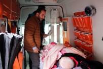 Yatalak Hasta Evde Bakım Hizmeti Ambulansında Oy Kullandı