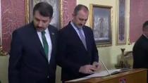 İSMET YıLMAZ - Bakan Gül, Sivas Valiliğini Ziyaret Etti