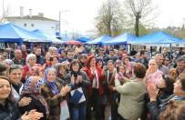 PAZARCI - Başkan Çerçioğlu'na Çakırbeyli'de Coşkulu Karşılama