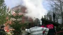 Bolu'da Pansiyon Yangını