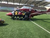 KONURALP - Hasta Düzce'den İstanbul'a Hava Ambulansı İle Nakledildi