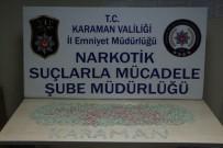 Karaman'da Uyuşturucu Operasyonu Açıklaması 4 Gözaltı
