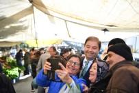 PAZARCI - Maltepe Pazarı'nda Başkan  Kılıç'a Sevgi Seli
