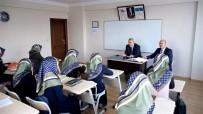 Müftü Çetin Süreyya Hanım Kız Kur'an Kursunu Ziyaret Etti