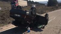 Otomobil İle Çekici Çarpıştı Açıklaması 1'İ Çocuk 5 Yaralı