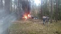 SAVAŞ UÇAĞI - Polonya'da Savaş Uçağı Düştü, Pilot Kurtuldu