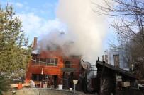 Yangın Çıkan Pansiyon Kullanılamaz Hale Geldi