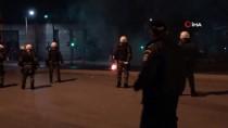 POLİS KARAKOLU - Yunanistan'da Türk Başkonsolosluğuna Molotofkokteylli Saldırı