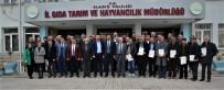 Elazığ'da 'İyi Tarım Uygulaması' 33 Üretici Sertifika Aldı