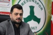 Giresunspor Başkanı Sacit Ali Eren'den Camiaya Mesaj