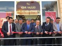 ÇAY OCAĞI - Iğdır'da Millet Kıraathanesi Açıldı
