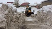 Karlıova'da Karla Mücadele 3 Aydır Sürüyor