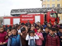 Kurtalan'da Öğrencilere Yönelik Yangın Tatbikatı Yapıldı