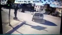 AKÇAALAN - Otomobille Çarpışan Motosikletin Sürücüsü Ağır Yaralandı