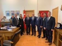 AHMET ÖZDEMIR - Özel Yurt İşletmecilerinin Ankara Ziyareti