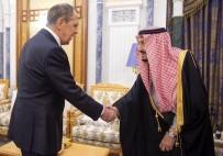 Cemal Kaşıkçı - Rusya Dışişleri Bakanı Lavrov Suudi Arabistan Kralı Selman Bin Abdulaziz İle Görüştü