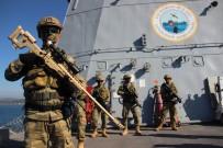 ZIRHLI ARAÇLAR - Temsili Düşman Adası Ele Geçirildi, Yerli Silahlar Göz Doldurdu