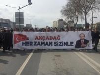 Akçadağlılardan Erdoğan'ın Mitingine Büyük İlgi