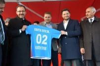 AYKUT PEKMEZ - Bakan Kasapoğlu'ndan Kahtaspor'a 100 Bin TL Destek Sözü