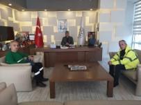Başkan Yiğit'e Çimento Fabrikası Yetkililerinden Ziyaret