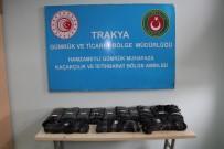 TRAKYA - Bulgaristan Sınırında 1 Milyon 645 Bin TL'lik Afyon Sakızı Ele Geçirildi