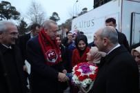 Cumhurbaşkanı Erdoğan, Erzincanlı Milli Kayakçıyı Külliyeye Davet Etti