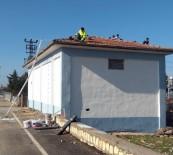 Dicle Elektrik Trafo Binalarını Onarıyor