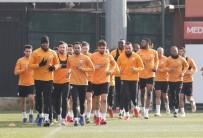 FLORYA - Galatasaray Dayanıklılık Çalıştı