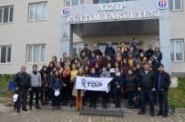 MEHMET ŞAHIN - GAÜN Öğrencileri 300 Fidanı Toprakla Buluşturdu