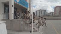 Gaziosmanpaşa Ortaokulunda Deprem Tatbikatı Yapıldı