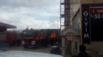 Giresun'un Şebinkarahisar İlçesinde Bir Akaryakıt İstasyonunda Yangın Çıktı