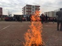 DOĞAL AFET - Kozluk'ta Öğrencilere Yönelik Yangın Tatbikatı