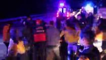 GÖKÇEÖREN - Manisa'da Yolcu Otobüsü Tıra Çarptı