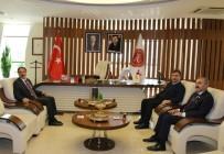 MEB İnsan Kaynakları Genel Müdürü Aydoğdu'dan Rektör Bağlı'ya Ziyaret